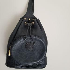 Delane leather sling bag